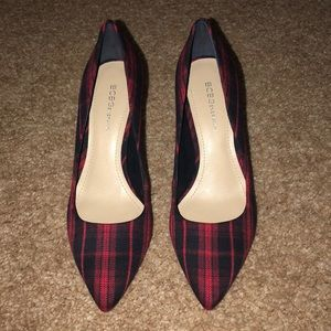 Plaid BCBGEneration Heels 7.5 Never worn!